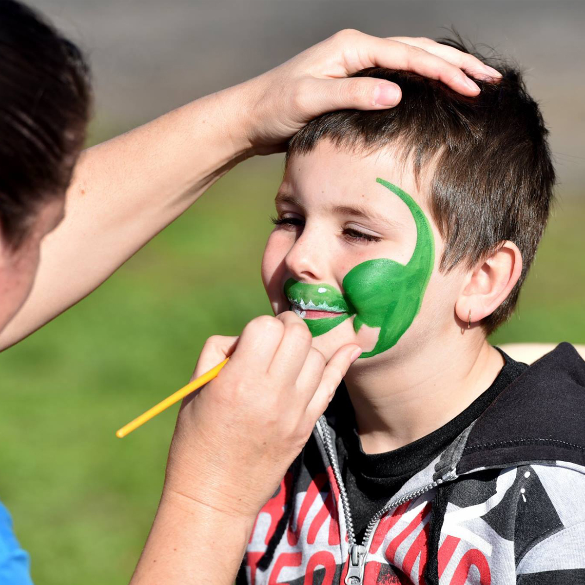 Horsham Cup Kids Face Painting