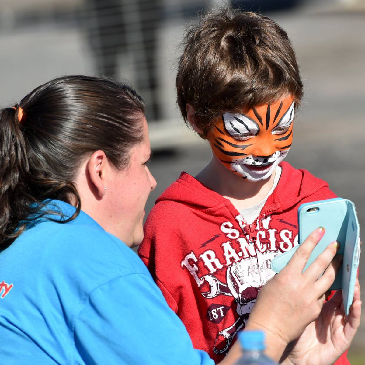 Horsham Cup Kids Face Painting Activity